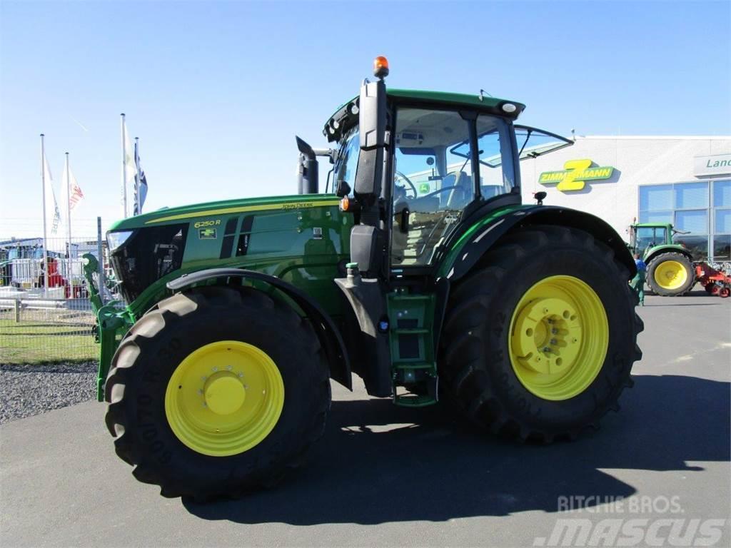 john deere 6250r baujahr 2017 gebrauchte traktoren. Black Bedroom Furniture Sets. Home Design Ideas