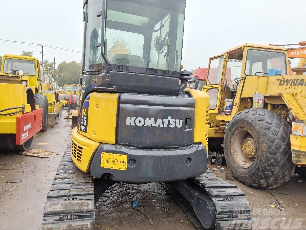 Komatsu Used PC55MR-2/PC120-5 excavator