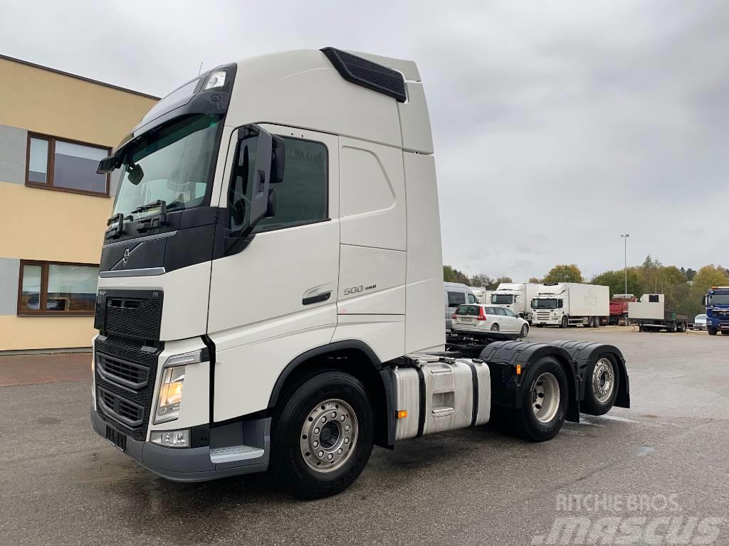 Volvo FH500 6x2+EURO6+PTO