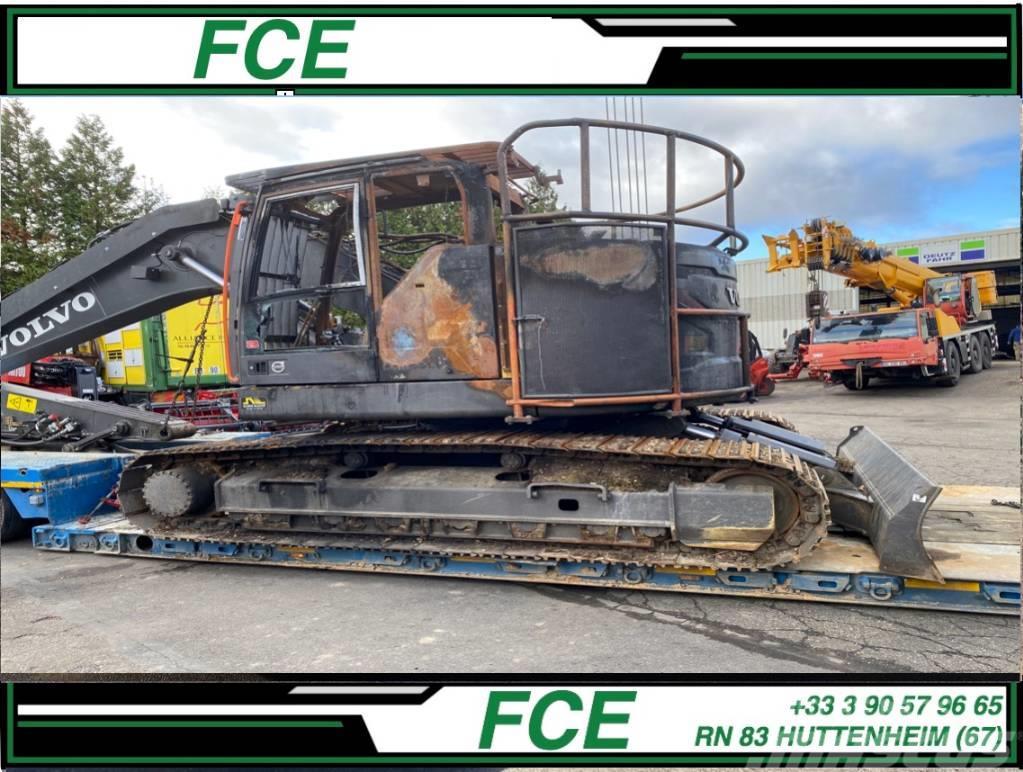 Volvo EC235EL *ACCIDENTE*DAMAGED*UNFALL*