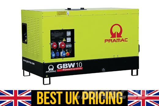Pramac GBW10P 10kVA Generator for House (Key Start)