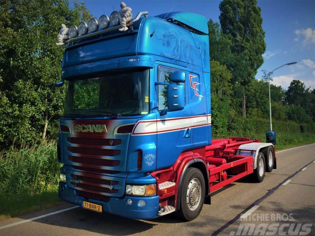 Scania 6x2 R730 haaksysteem
