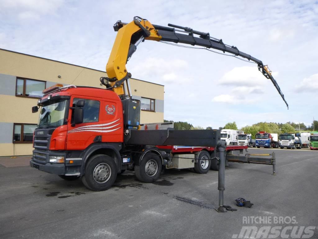 Scania P420 8x2*4+CRANE COPMA 990+VINCH