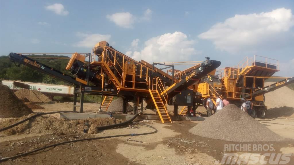 Fabo FULLSTAR-60 Crushing, Washing & Screening  Plant
