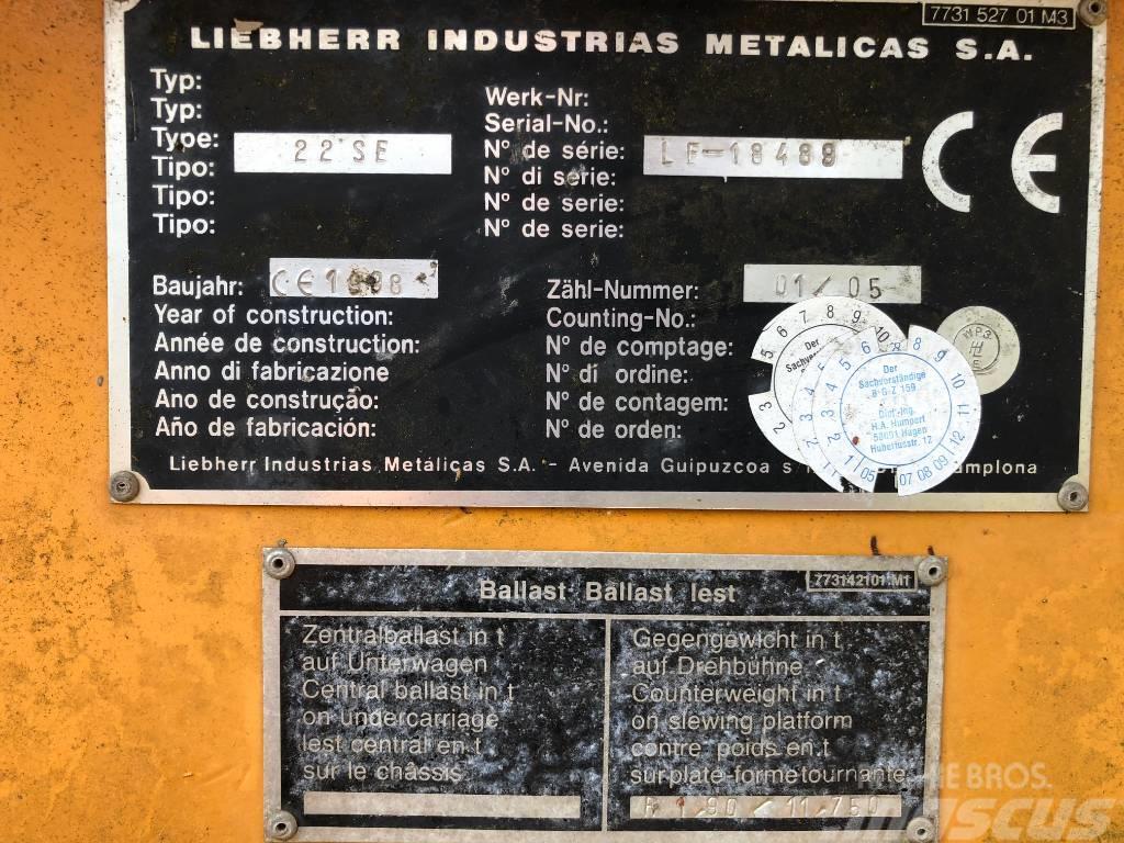 Liebherr 22SE