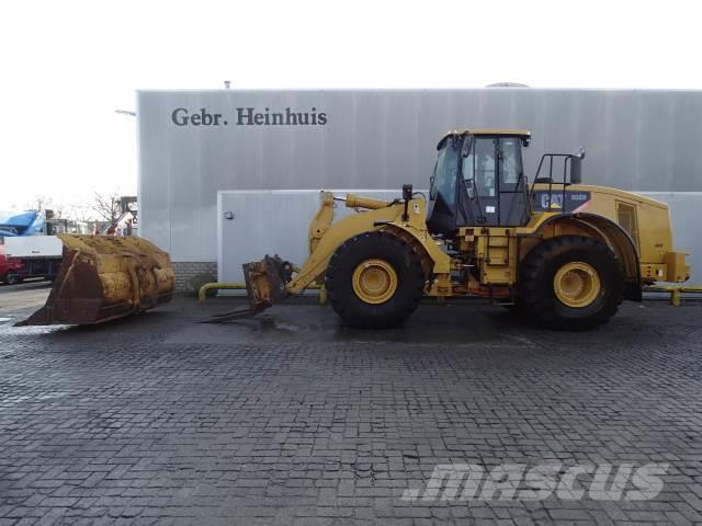 Caterpillar 966H Block Handler 90% Rock Tyres! Top Condition!