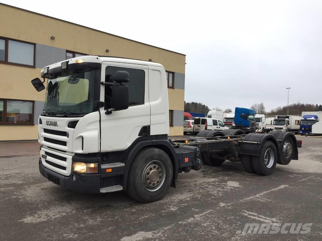 Scania P420 6x2+EURO5+FULL AIR