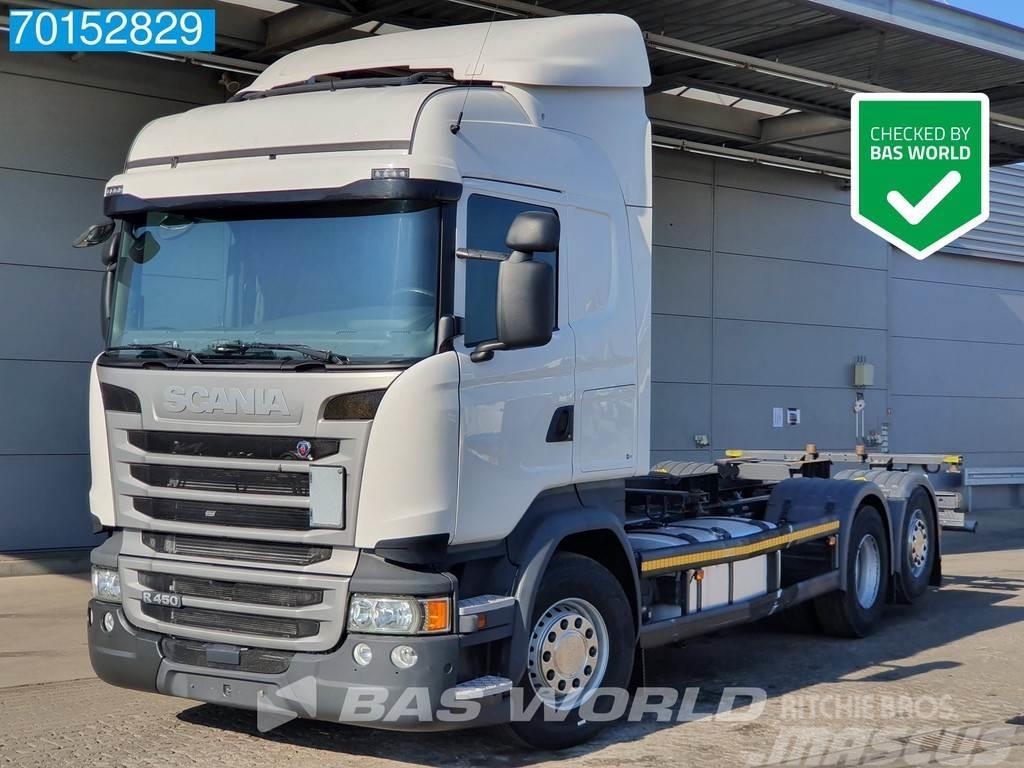 Scania R450 6X2 Retarder Liftachse ACC LDWS Euro 6