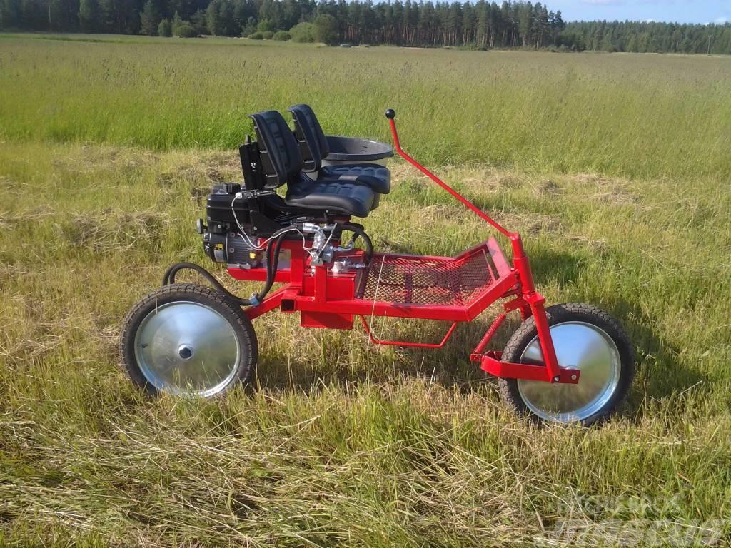 Pomo HUKKIS Hukkakauramopo, 2015, Övriga lantbruksmaskiner