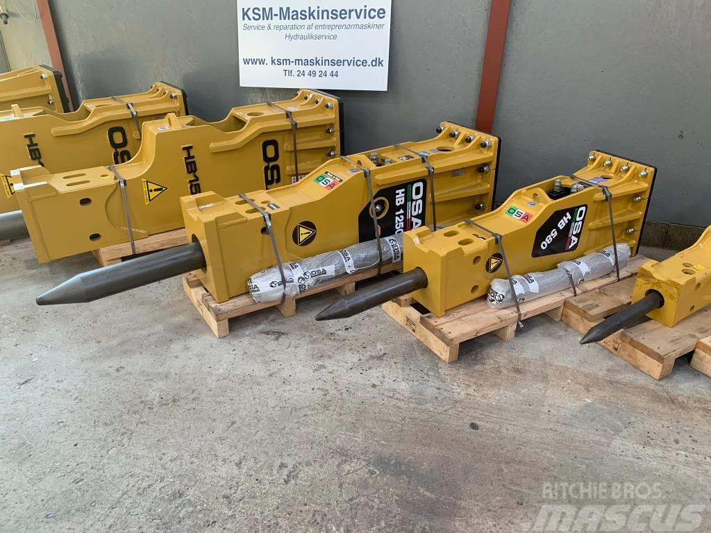 OSA fra HB180 til HB1900 Hydraulikhammer