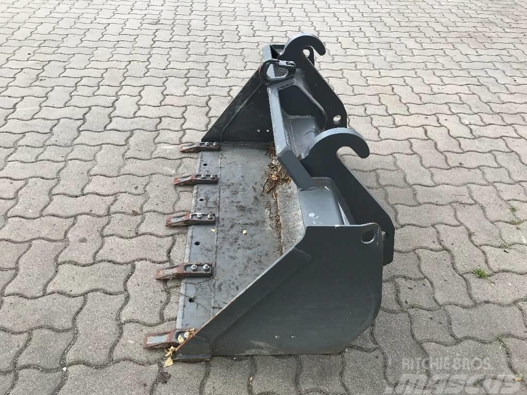 Weidemann Erdschaufel mit Reißzähnen 1150mm