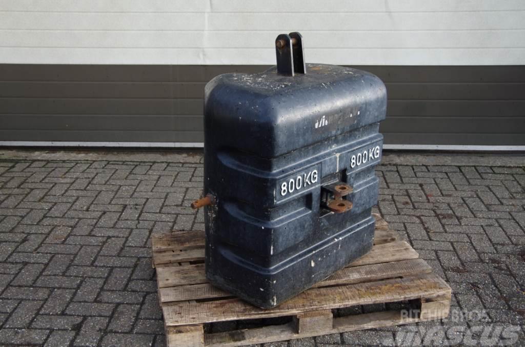 [Other] Diverse Frontgewichten 600, 800 en 1500 Kg