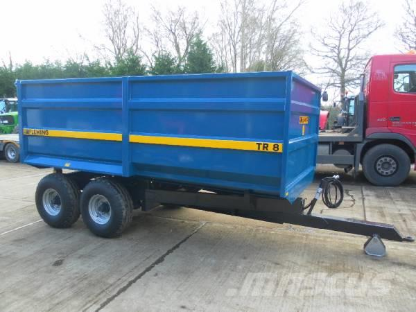 Fleming TR8 8 TONNE TIPPING TRAILER