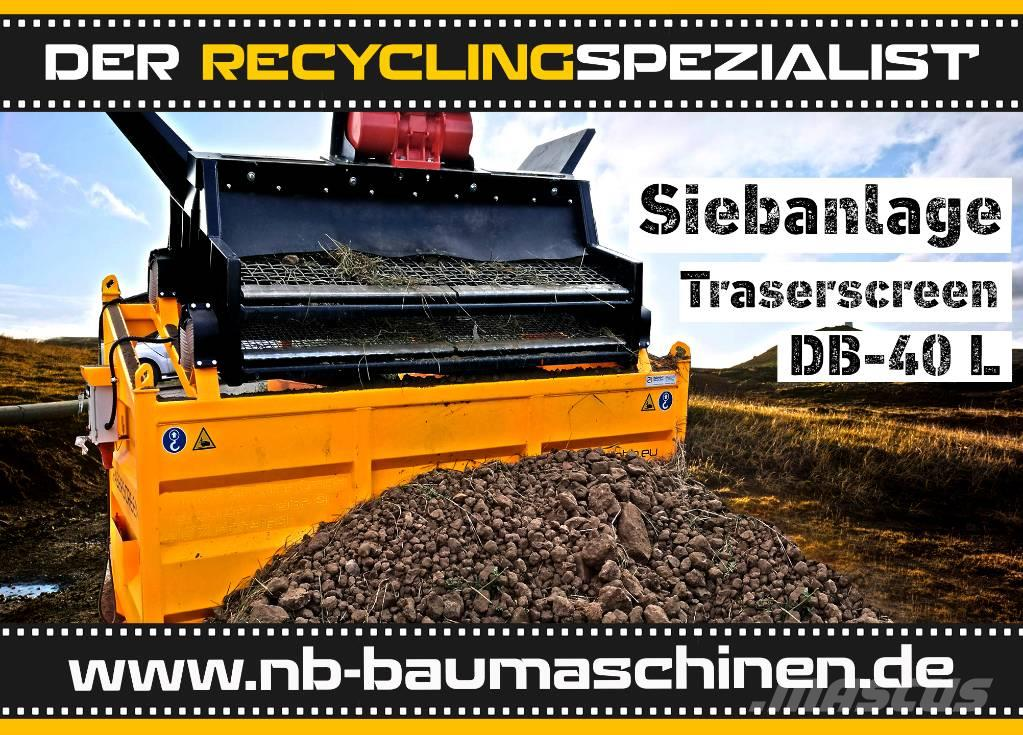 DB Engineering DB-40L Siebanlage   Flachdecksieb   Siebbox