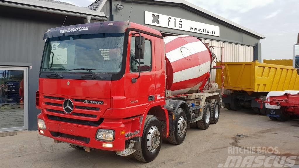 Mercedes-Benz ACTROS 3241 8x4 Liebherr mixer 9m3