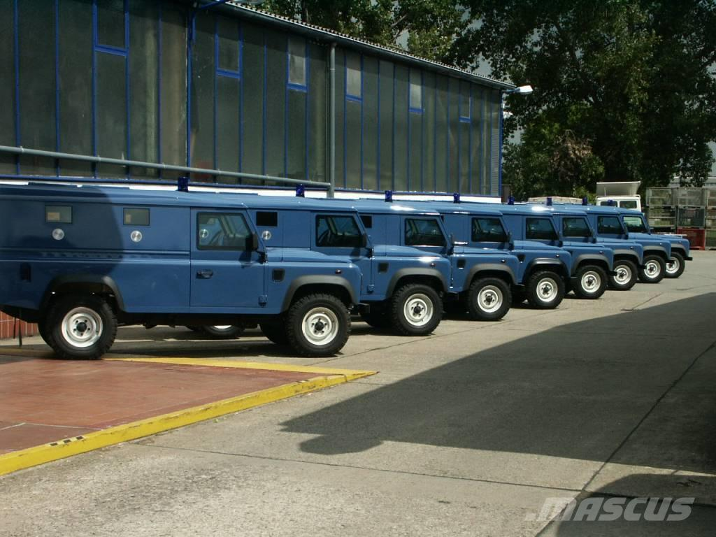 Land Rover Defender 110 HT New armored police car