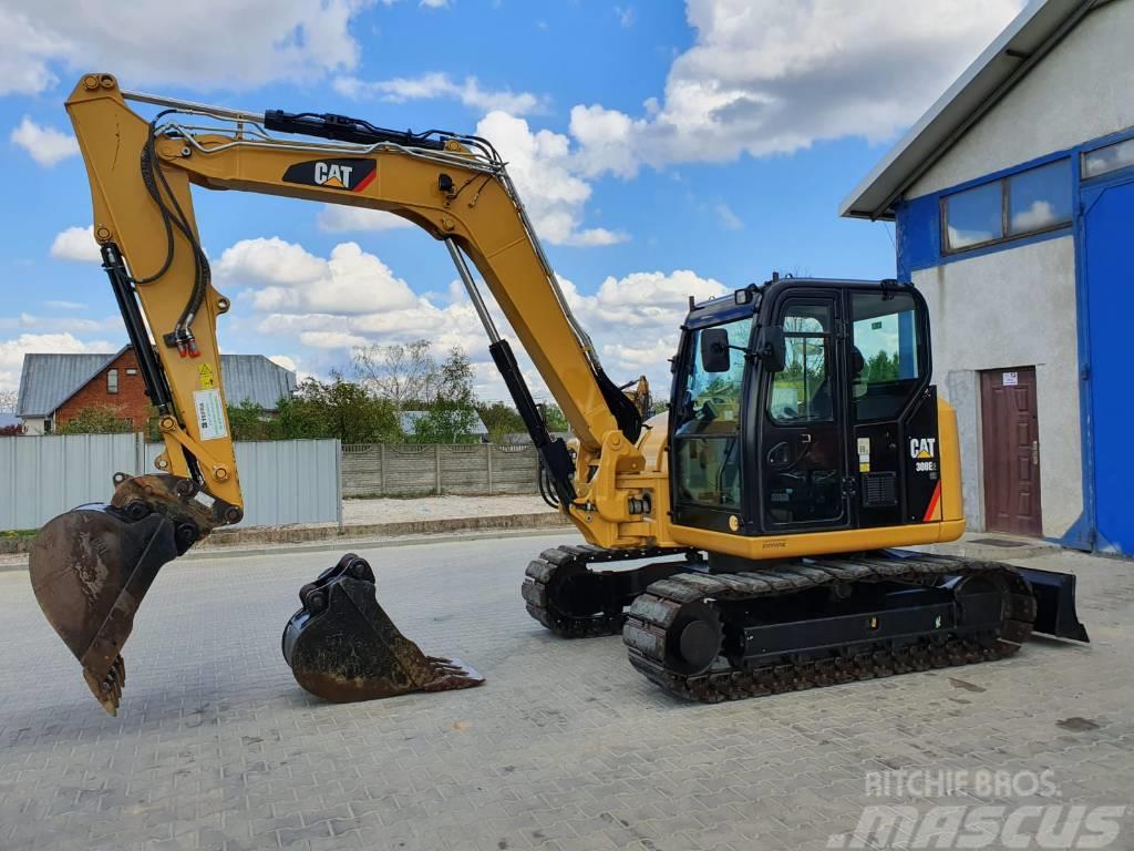 Caterpillar 308 E 2 CR 307 312 2015R. JCB CAT JCB BOBCAT