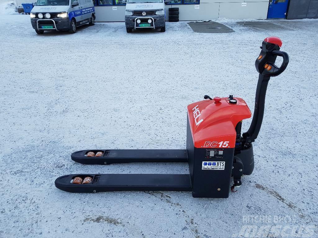 Heli CBD15-170G - 1,5 tonns palletruck (PÅ LAGER)