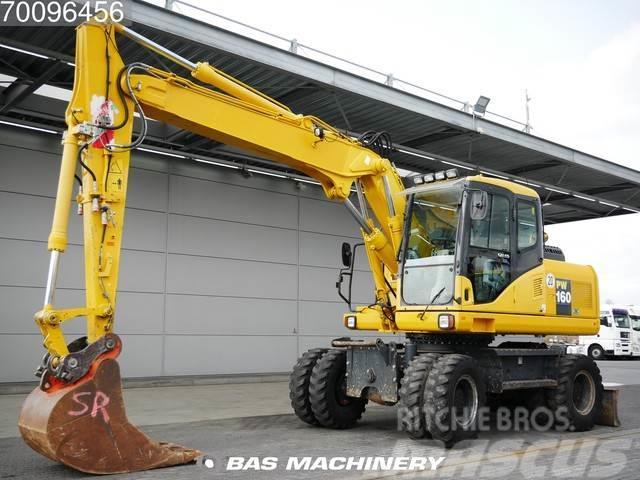 Komatsu PW160 Ex german machine