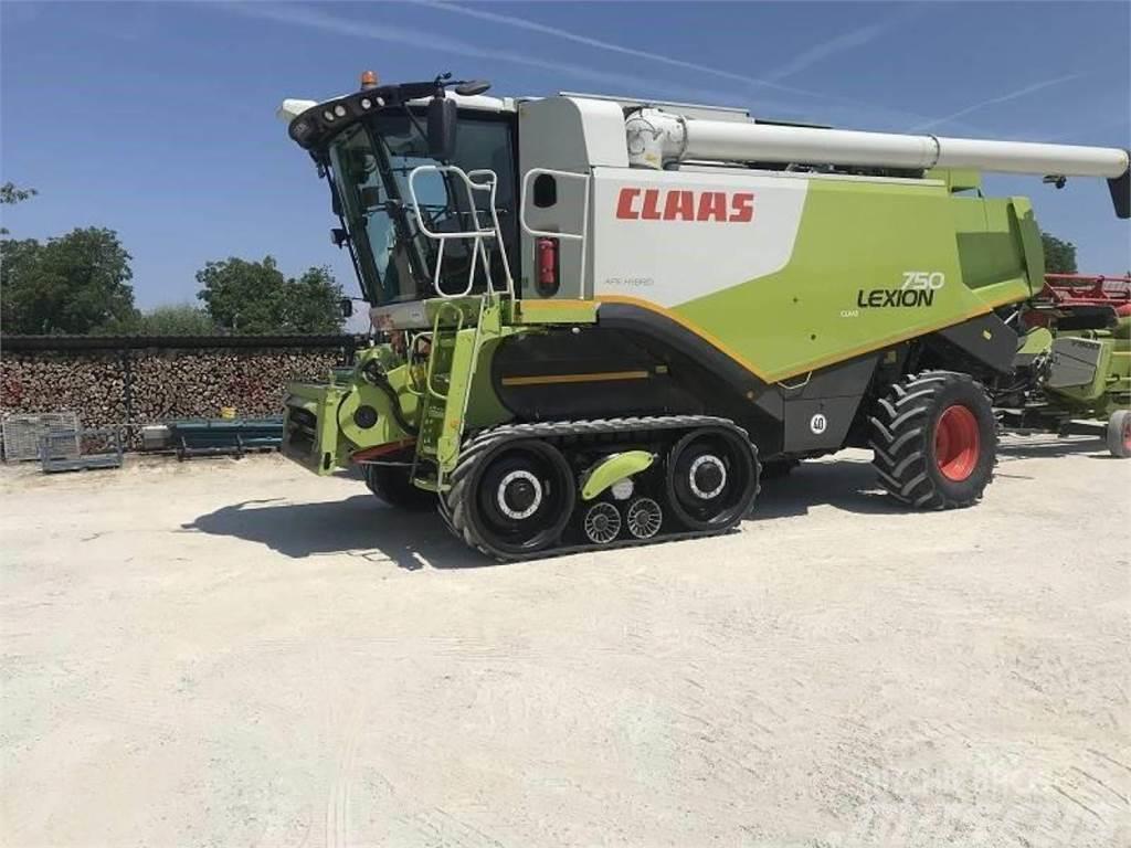 CLAAS lexion 750 tt - 40 km/h allrad