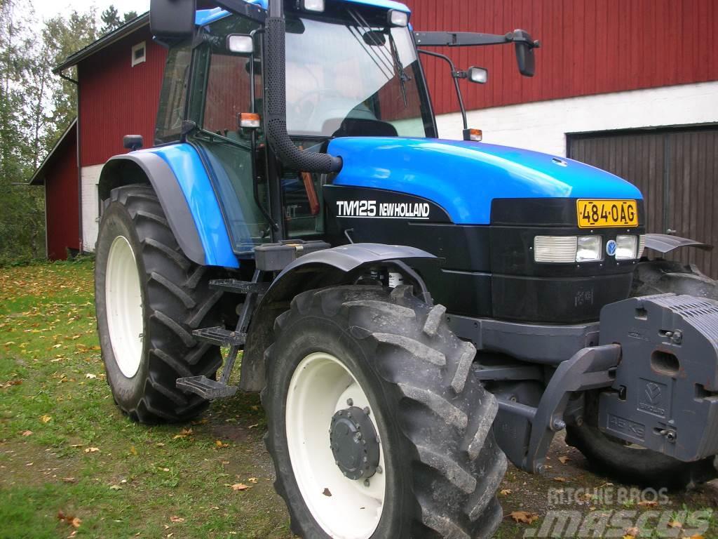 New Holland TM 125 SS