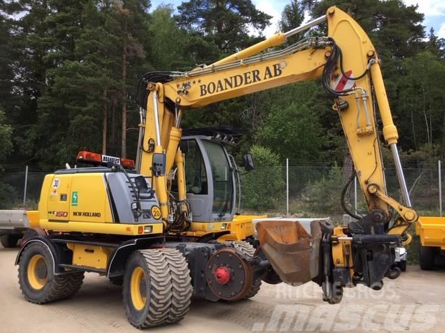 New Holland WE 150 B - Rail