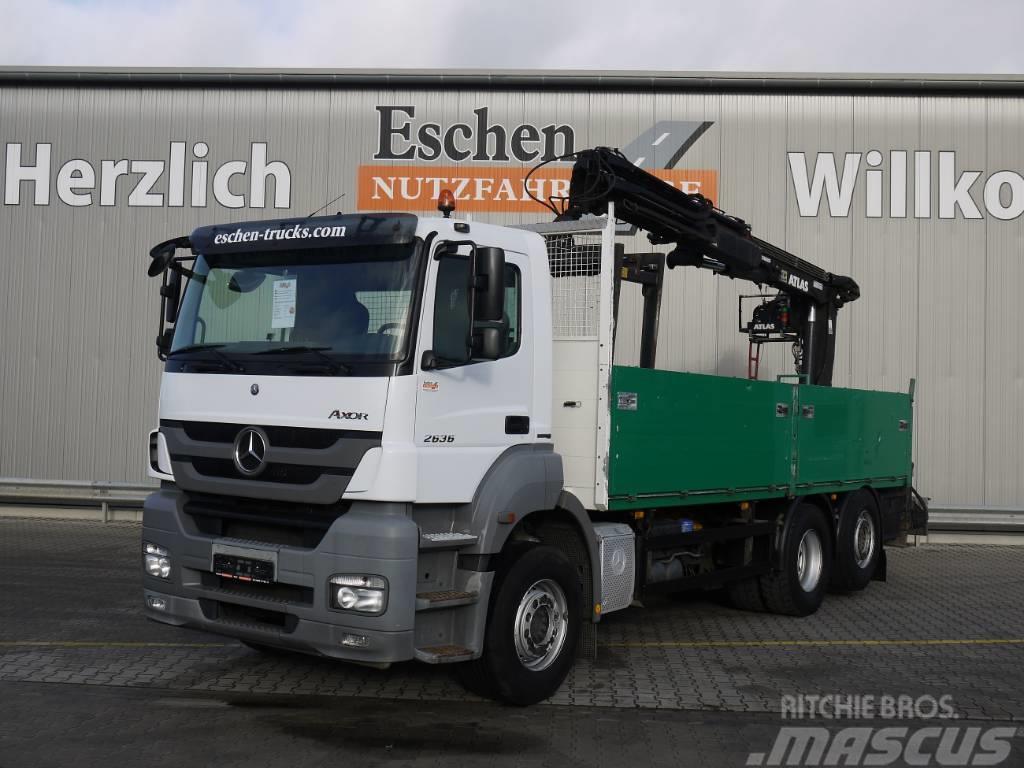 Mercedes-Benz Axor 2536L, Atlas 165.2, Bl/Lu