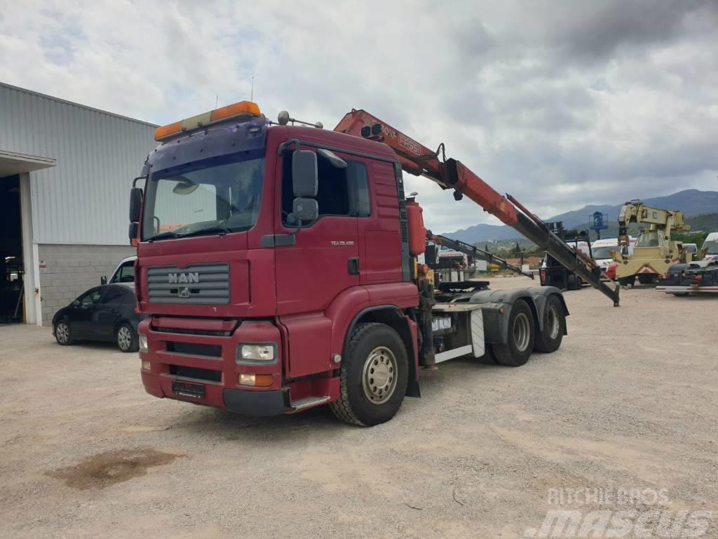 MAN 28.480 6x2 tractor unit Fassi F230AXP.24
