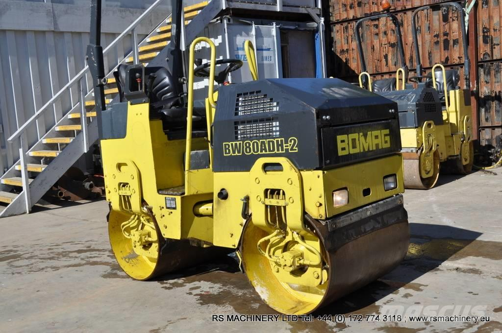 Bomag BW 80 ADH-2 DOUBLE DRUM VIBRATING ROLLER