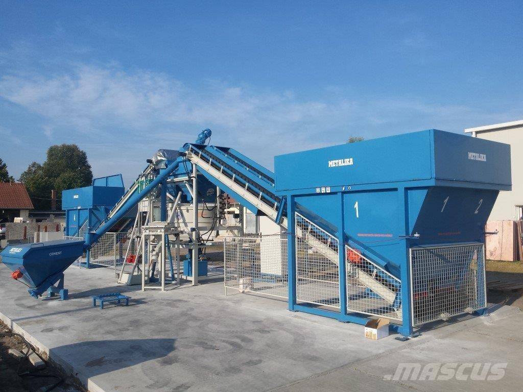 Metalika MBT-750V Concrete mixing plant (Compact)