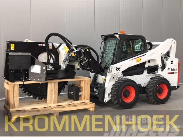 Bobcat S 770 HF + Simex RW500 | NEW