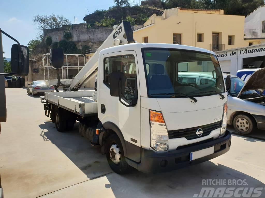 1be0c75a90 Nissan -cabstar-movex-15-mts-working-platform-on-truck-v - Truck ...