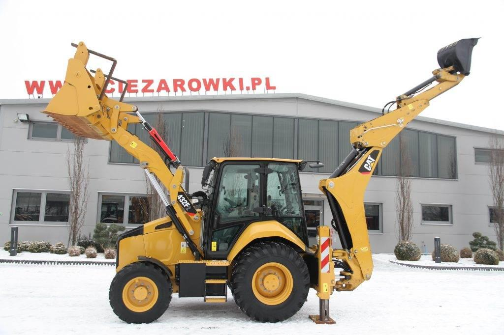Caterpillar BACKHOE LOADER CAT 432F2 TURBO POWERSHIFT