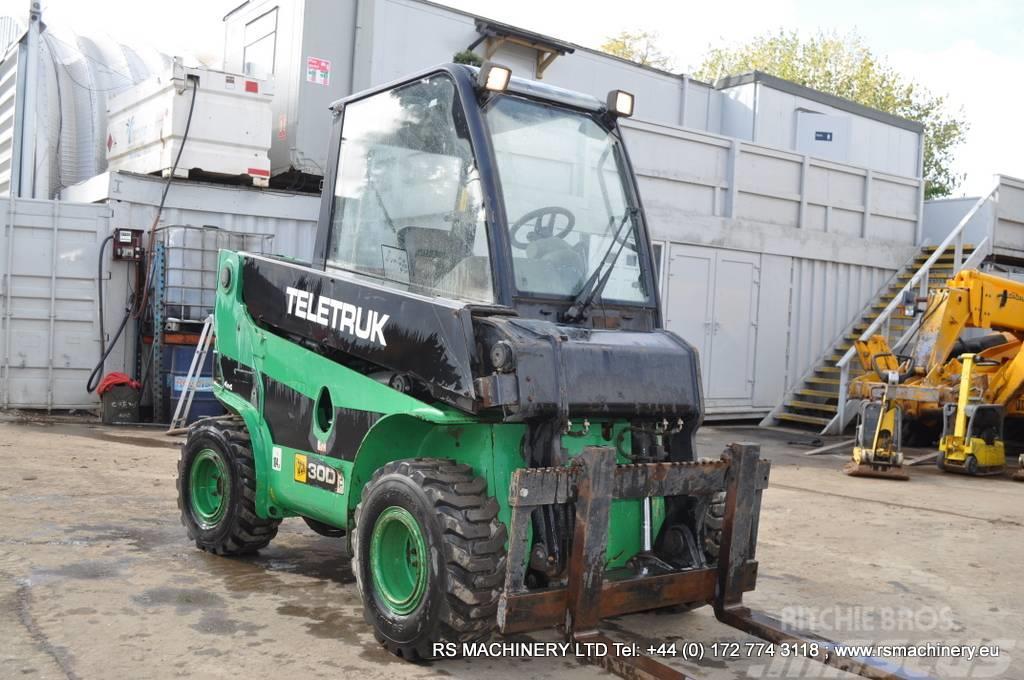JCB TLT30D 4x4 TELETRUK 4x4 4WD TELEHANDLER / FORKLIFT