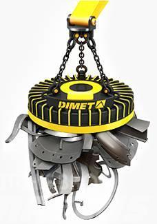 [Other] Electromagnet lifting magnet DIMET EMG 125 SM