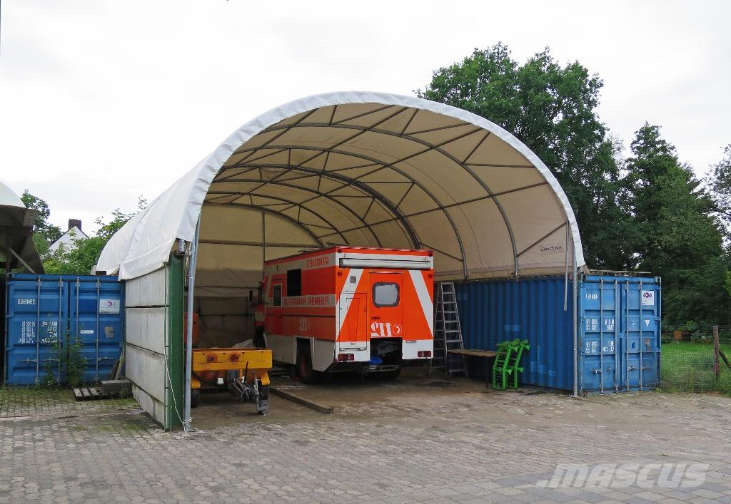 Storage Container Shelter : Used kroftman container overkapping shelter t