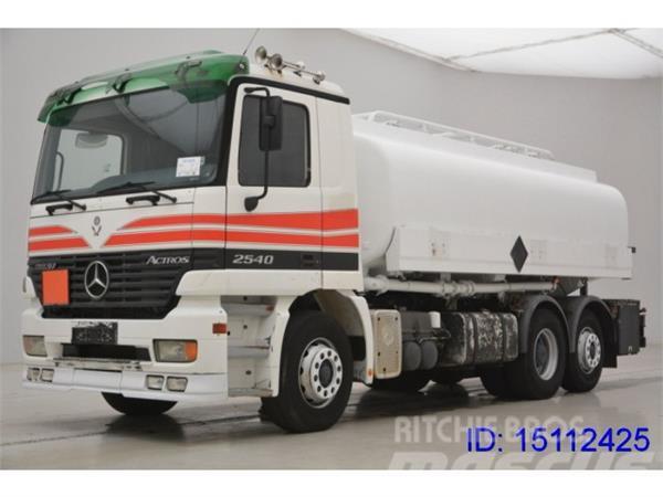 Mercedes-Benz ACTROS 2540 6x2