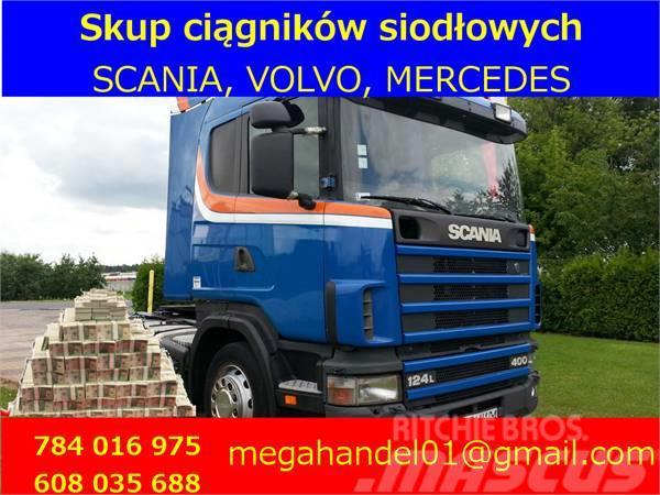Scania 124L360 124L400 124L420 SKUP CIĄGNIKÓW SIODŁOWYCH
