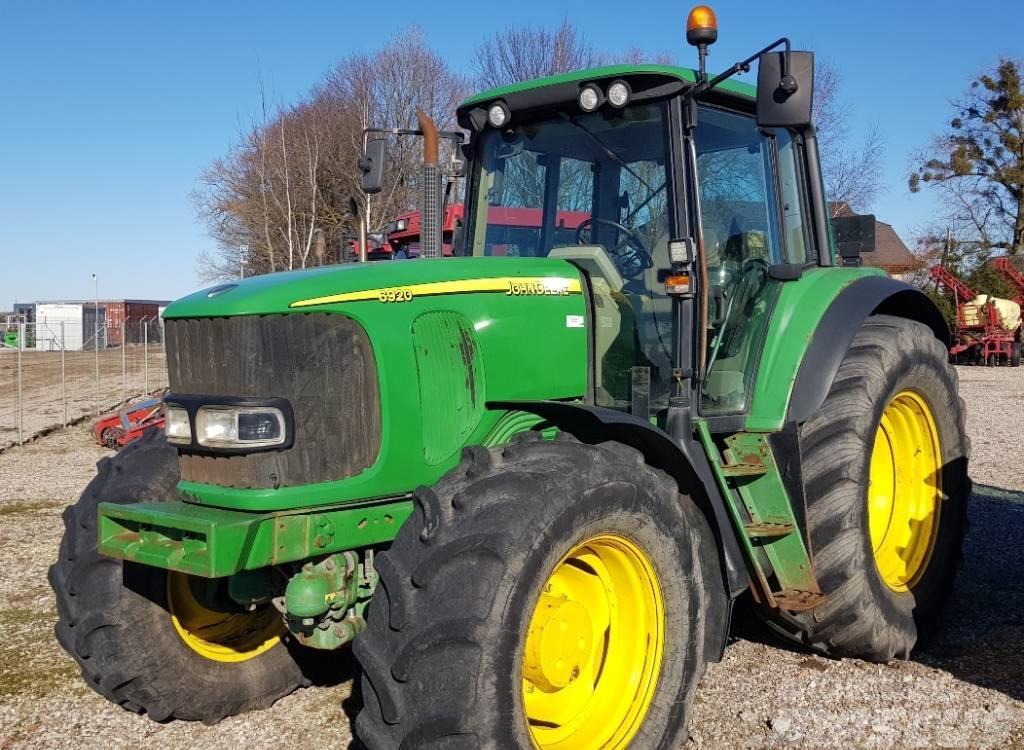 Außergewöhnlich John Deere 6920 - Tractors, Price: £22,344, Year of manufacture &DF_36