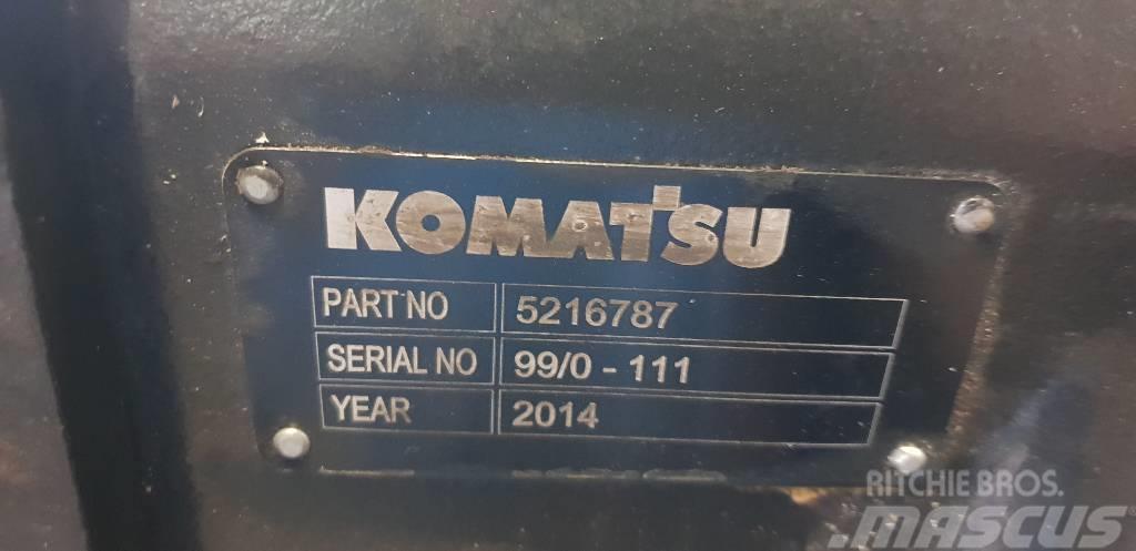 Komatsu gearbox 5216787