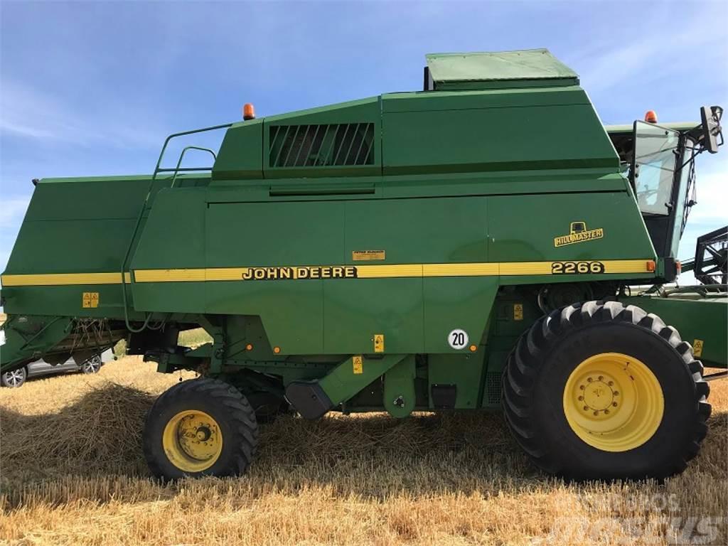 John Deere 2266 HM, 1997, Combine harvesters ...