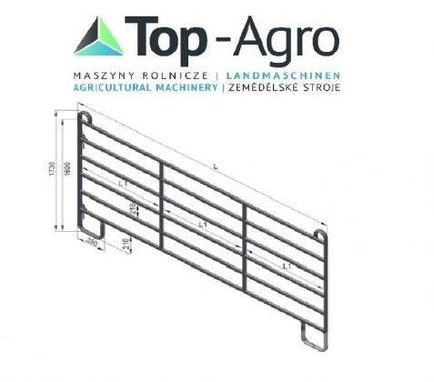 Top-Agro Partition wall door or panel HAP 240 NEW!