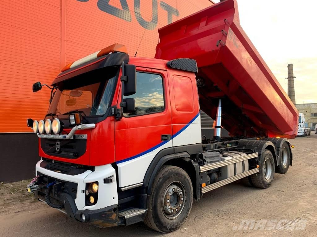 Volvo FMX 370 6x2 Full steel