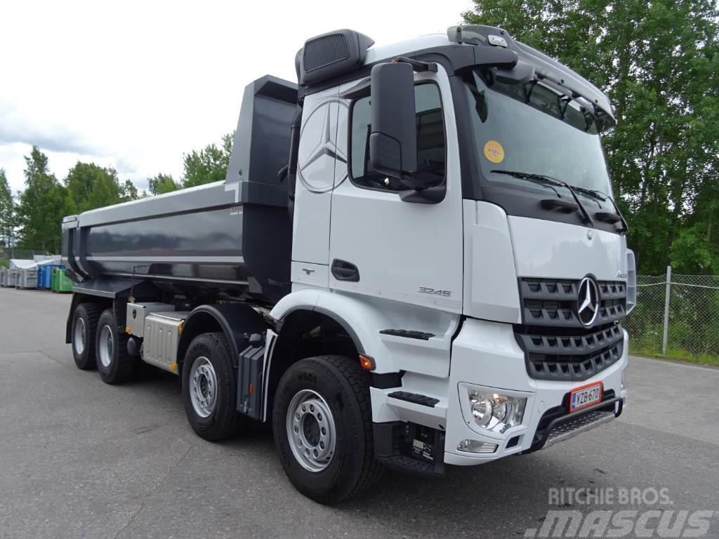 used mercedes benz arocs 3245 k 8x4 4 dump trucks year. Black Bedroom Furniture Sets. Home Design Ideas