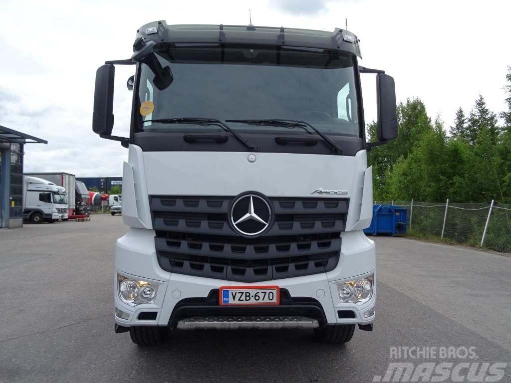 Used mercedes benz arocs 3245 k 8x4 4 dump trucks year for Mercedes benz f 750 price