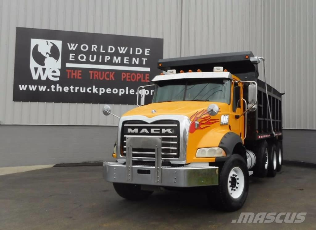 mack ct713 for sale knoxville tn price 89 750 year 2007 used mack ct713 dump trucks. Black Bedroom Furniture Sets. Home Design Ideas