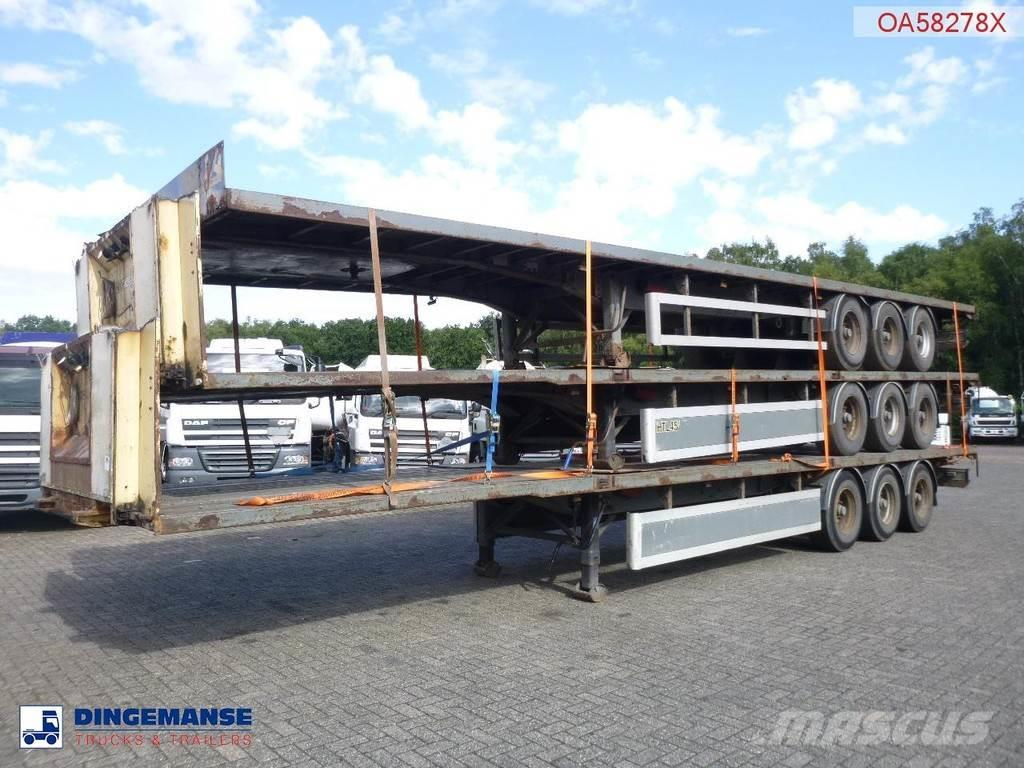 SDC Stack - 3 x platform trailer
