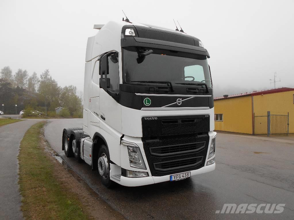 used volvo fh 460 6x2 adr 15 tractor units year 2015 for. Black Bedroom Furniture Sets. Home Design Ideas