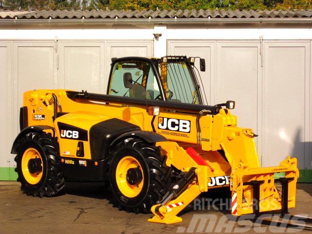JCB 535 - 140 4x4x4 ** 14m / 3.5t. Zusatzhydr. **