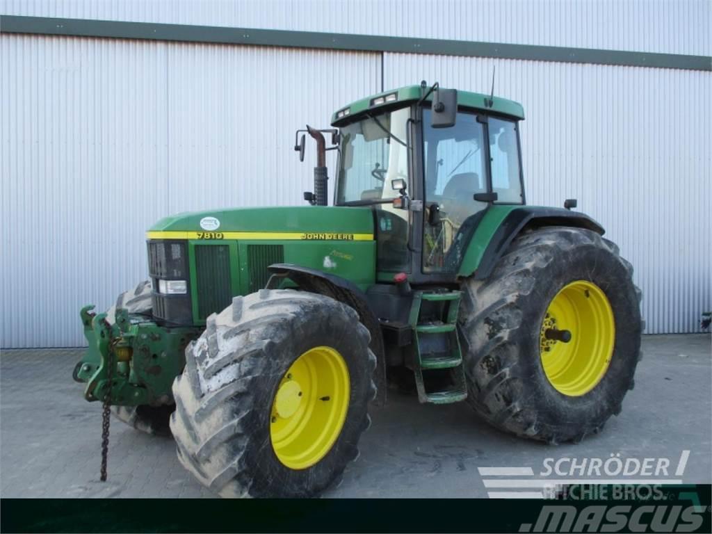 john deere 7810 auto power gebrauchte traktoren gebraucht. Black Bedroom Furniture Sets. Home Design Ideas